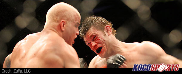 Forrest Griffin says he is happy to not be fighting Chael Sonnen