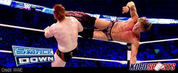 WWE Friday Night Smackdown results – 07/13/12 – (The Great White outfights Jericho, only to be blindsided by Del Rio)