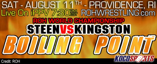 Video: ROH Boiling Point – 08/11/12 – (Full Show)