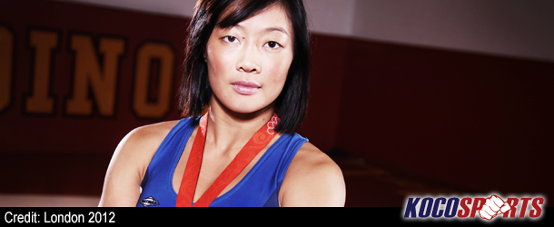 """Video: Olympic wrestler Carol Huynh delivers her """"Lead the Change – Be the Change"""" video message"""