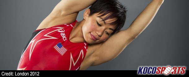 Video: Clarissa Chun after winning a bronze medal at the 2012 Olympics