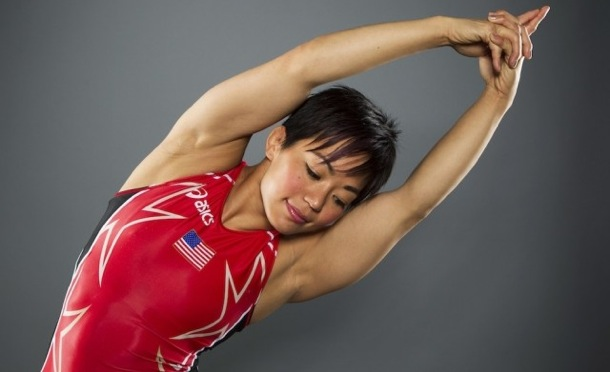 Video: Olympic medalist Clarissa Chun at NCAA's with Missouri