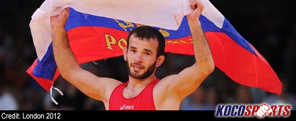 Russia take fourth Wrestling gold at London 2012