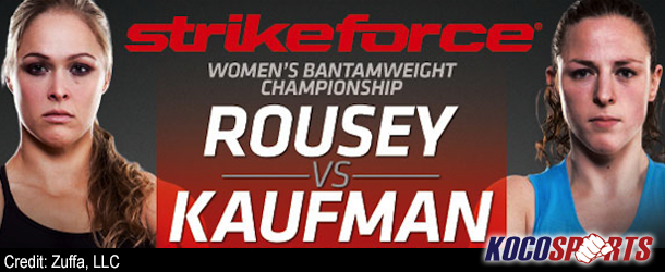 "Video: Strikeforce ""Rousey vs. Kaufman"" update from San Diego"