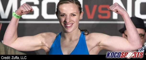 Sarah Kaufman excited to step back into the cage so quickly after recent disappointment