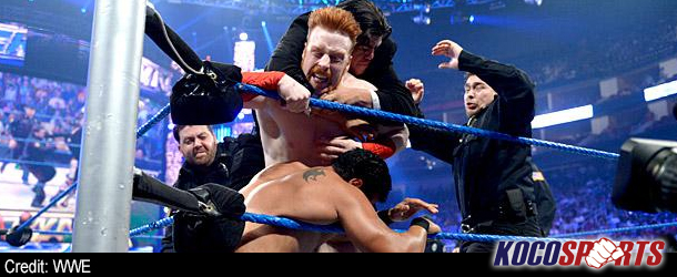 WWE Friday Night Smackdown results – 08/10/12 – (Del Rio takes the law into his own hands)