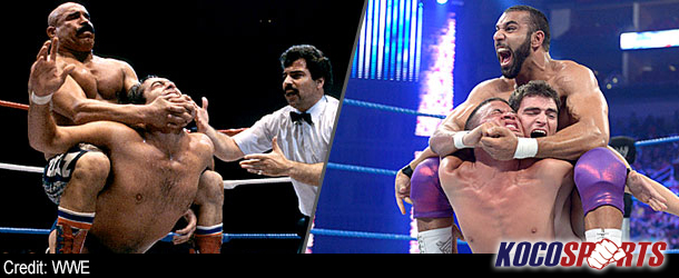The Iron Sheik humbles Jinder Mahal over use of the Camel Clutch