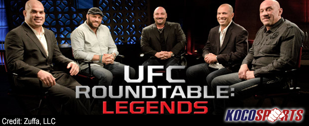 Video: UFC Roundtable brings four UFC legends to the fold for a rousing discussion about super fights