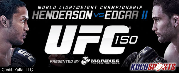 UFC 150 official weigh-in results – 08/10/12 – (Main Card, FX & Online Fights)