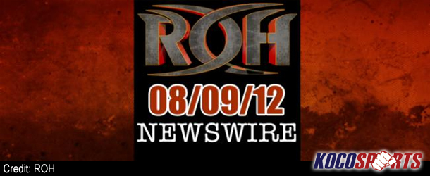 ROH Newswire – 08/09/12 – (Ring of Honor's debut in Providence, RI)