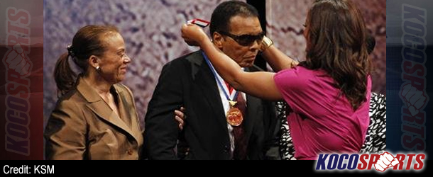 Muhammad Ali honored for his humanitarian efforts and civil rights work