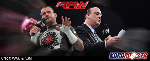 CM Punk's UFC ambitions hyped up by Paul Heyman