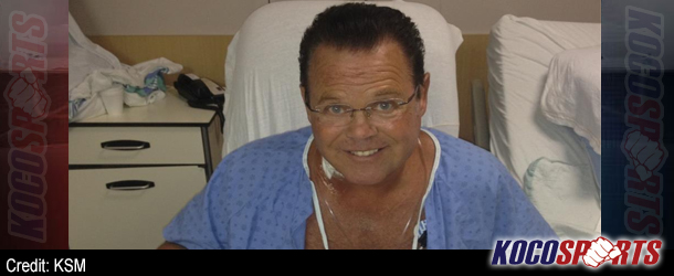 Video: Jerry Lawler posts a video update from his hospital room via Tout