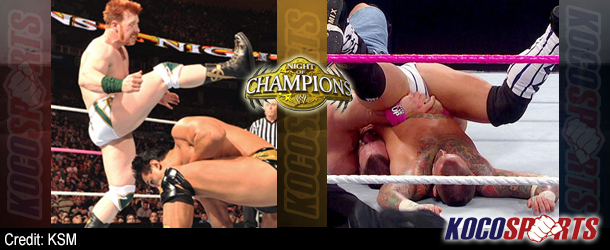 WWE Night of Champions results – 09/16/12 – (New Tag & Divas Champs; Cena / Punk double-pinfall Controversy!)