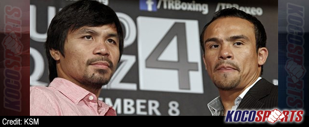"Video: Footage from the ""Manny Pacquiao vs. Juan Manuel Marquez 4"" press conference"