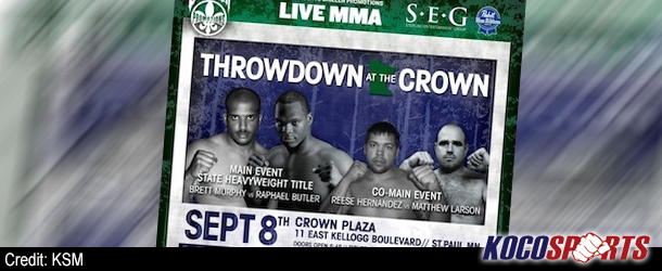 Video: MN-MMA Throwdown at the Crown – 09/08/12 – (Full Show)