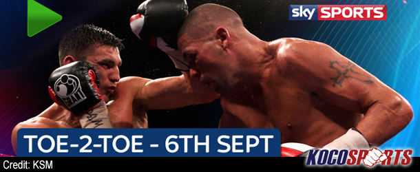 "Video: Sky Sports Boxing – ""Toe2Toe"" – 09/06/12 – (Full Show)"