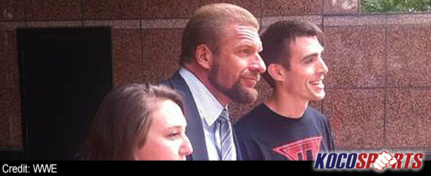 Triple H debuts new look; cuts off all his hair