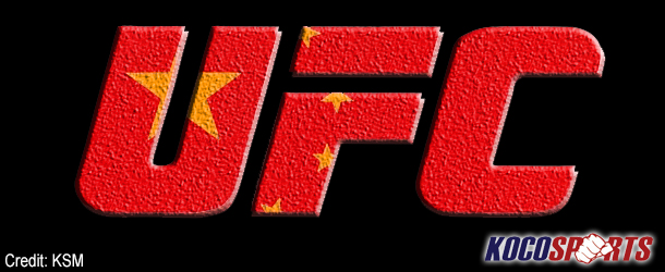 UFC lays foundation for Chinese TUF