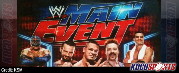Promotional poster released for WWE Main Event debut on Oct, 3rd on ION network