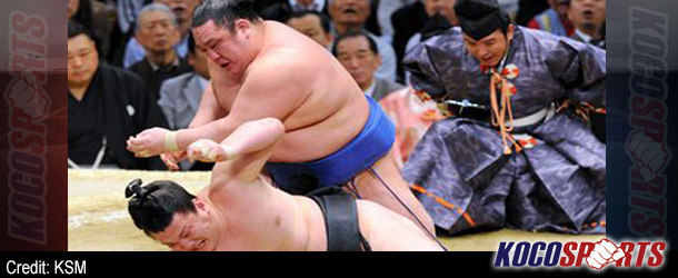 Wakanosato earns 800th professional sumo victory