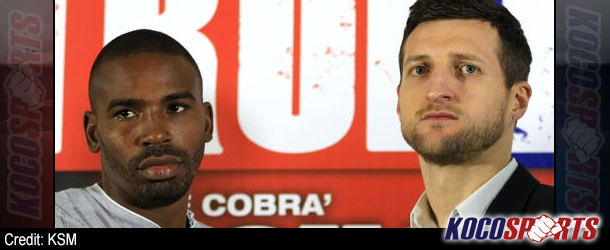 Carl Froch refuses to take Yusaf Mack lightly