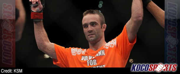 """Jacob Volkmann defends criticism that his fights are boring, refers to internet fans as """"Fat Turds"""""""