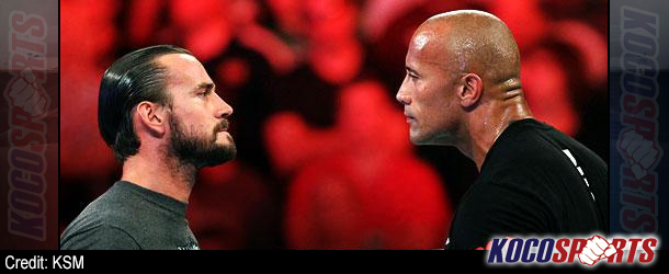 The Rock and CM Punk continue to take shots at each other via Social Media