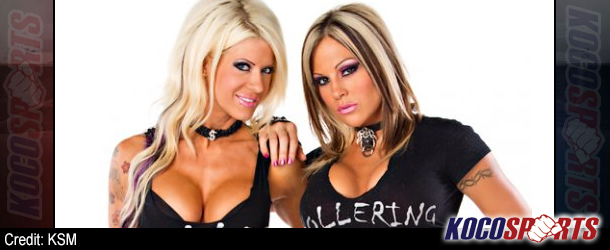 "Angelina Love and Velvet Sky featured on the cover of the latest edition of ""Models Mania Magazine"""