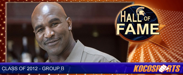 Evander Holyfield inducted into the Kocosports.com Combat Sports Hall of Fame