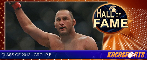 Dan Henderson inducted into the Kocosports.com Combat Sports Hall of Fame
