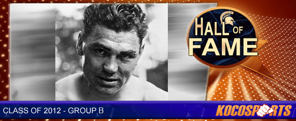 Jack Dempsey inducted into the Kocosports.com Combat Sports Hall of Fame
