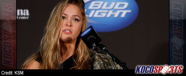 "Ronda Rousey says Georges St. Pierre ""lucked out"" and if he was ""butt ugly"", he would still be unknown"