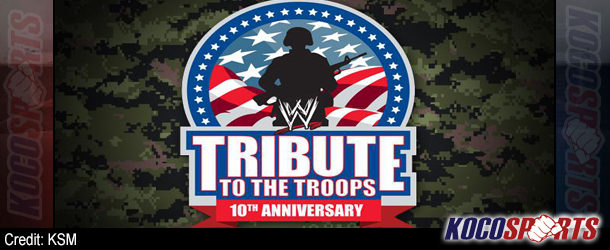 Video: WWE Tribute to the Troops – 12/19/12 – (Full Show)