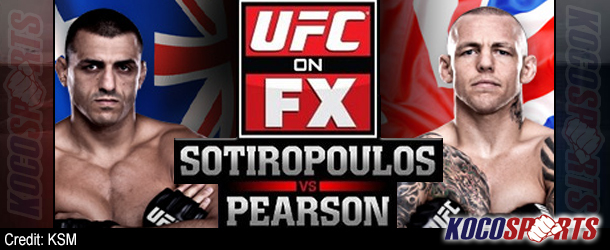 "Video: UFC on FX 6 – ""Sotiropoulos vs Pearson"" – 12/14/12 – (Full Show)"