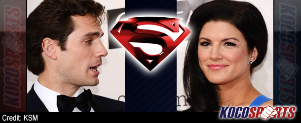 Gina Carano, ex-MMA star, shows off Superman boyfriend