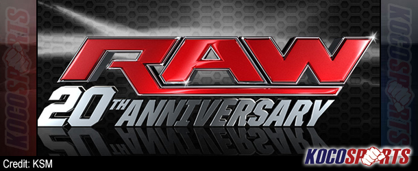 The Associated Press covers WWE's Raw 20th Anniversary