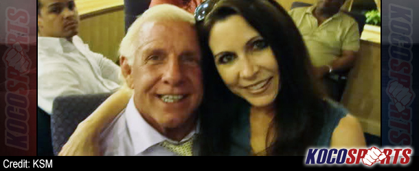 "Arrest warrant issued after Ric Flair's ex-wife makes threatening calls to Wendy ""Fifi"" Barlow"