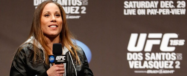 Video: Liz Carmouche on Fighting in UFC (MMA Live Extra)
