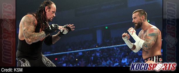 Undertaker to take on CM Punk at WrestleMania 29