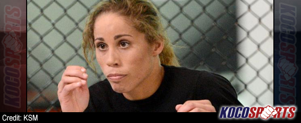 "Liz Carmouche – ""Breaking down Girl-Rilla's game plan for success at UFC 157"""