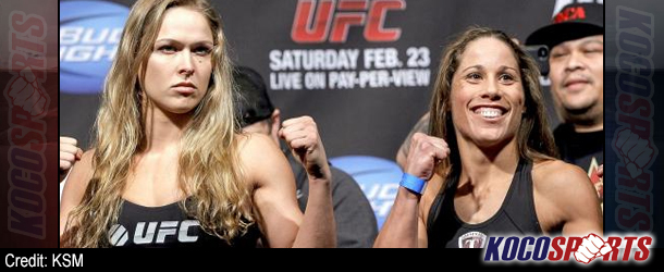 "Video: UFC 157 ""Rousey vs. Carmouche"" – Weigh Ins – 02/22/13 – (Full Show)"