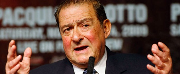 Bob Arum: Little Oscar is Crying because Golden Boy Can't Compete!