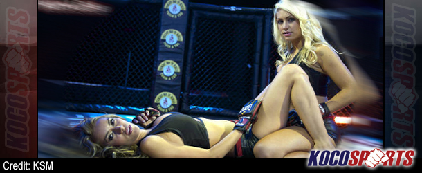 "Bellator MMA's ""Sweet Submissions"" has strong lesbian undertones"
