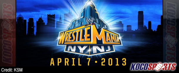 WWE's current WrestleMania XXIX card, plus the full schedule of events for 'Mania week