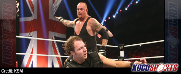 WWE Monday Night Raw results – 04/22/13 – (Anarchy in the U.K. as Foley confronts Ryback and Undertaker returns)