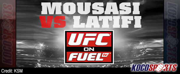UFC on FUEL 9 weigh-in results – 04/05/13 – (Latifi on target in hopes of upset against Mousasi)