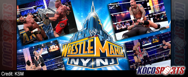WWE WrestleMania XXIX results – 04/07/13 – (Cena beats Rock; Taker's streak survives; Triple H victorious!)