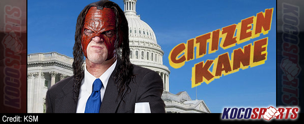 """WWE's Glenn """"Kane"""" Jacobs says he has """"no plans on running for political office at this time"""""""