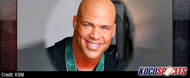 "Video: Kurt Angle attends ""Rumble on the Rails"" event to save Olympic wrestling"
